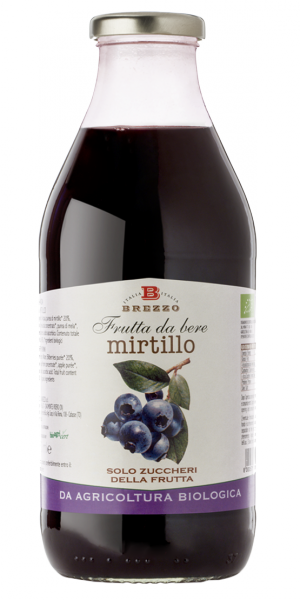 Frutta da bere - Mirtillo BIO