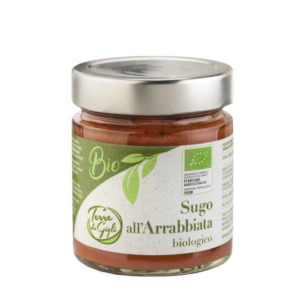 Sugo all'Arrabbiata Biologico