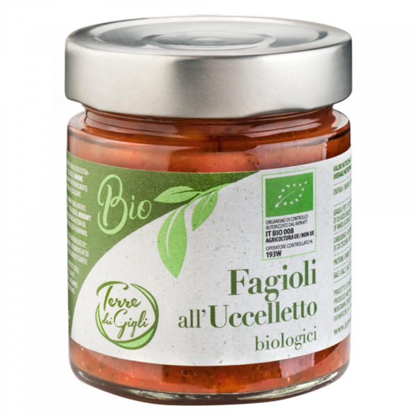 Fagioli all'Uccelletto Biologico